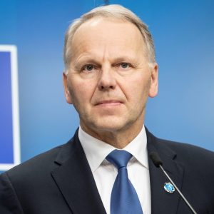 Jari Leppa, Minister for Agriculture and Forestry of Finland and President of the EU Council of Ministers