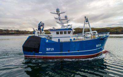 Mooney Boats 'Amethyst' Set to Shine in Fraserburgh
