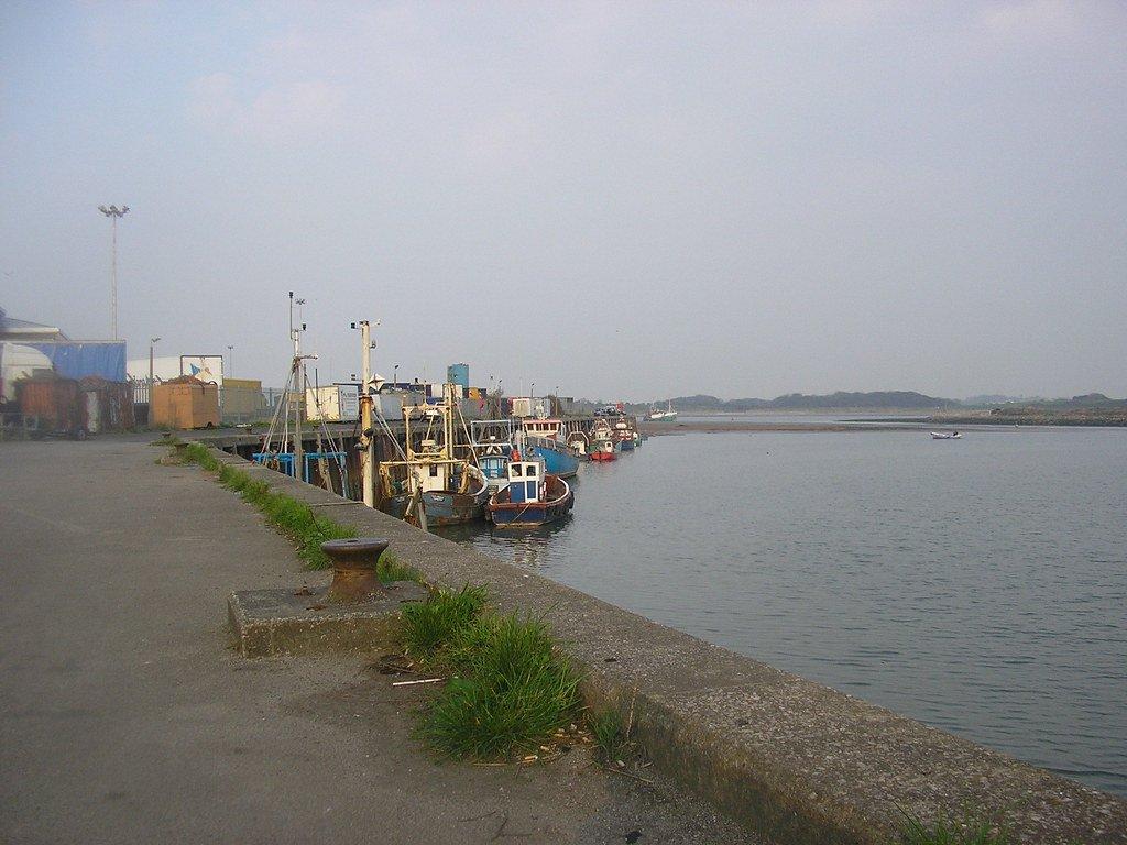 Fleetwood harbour