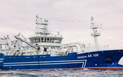 Icelandic boats fishing Blue Whiting South-West of Ireland