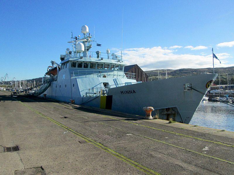 uk fisheries protection ship