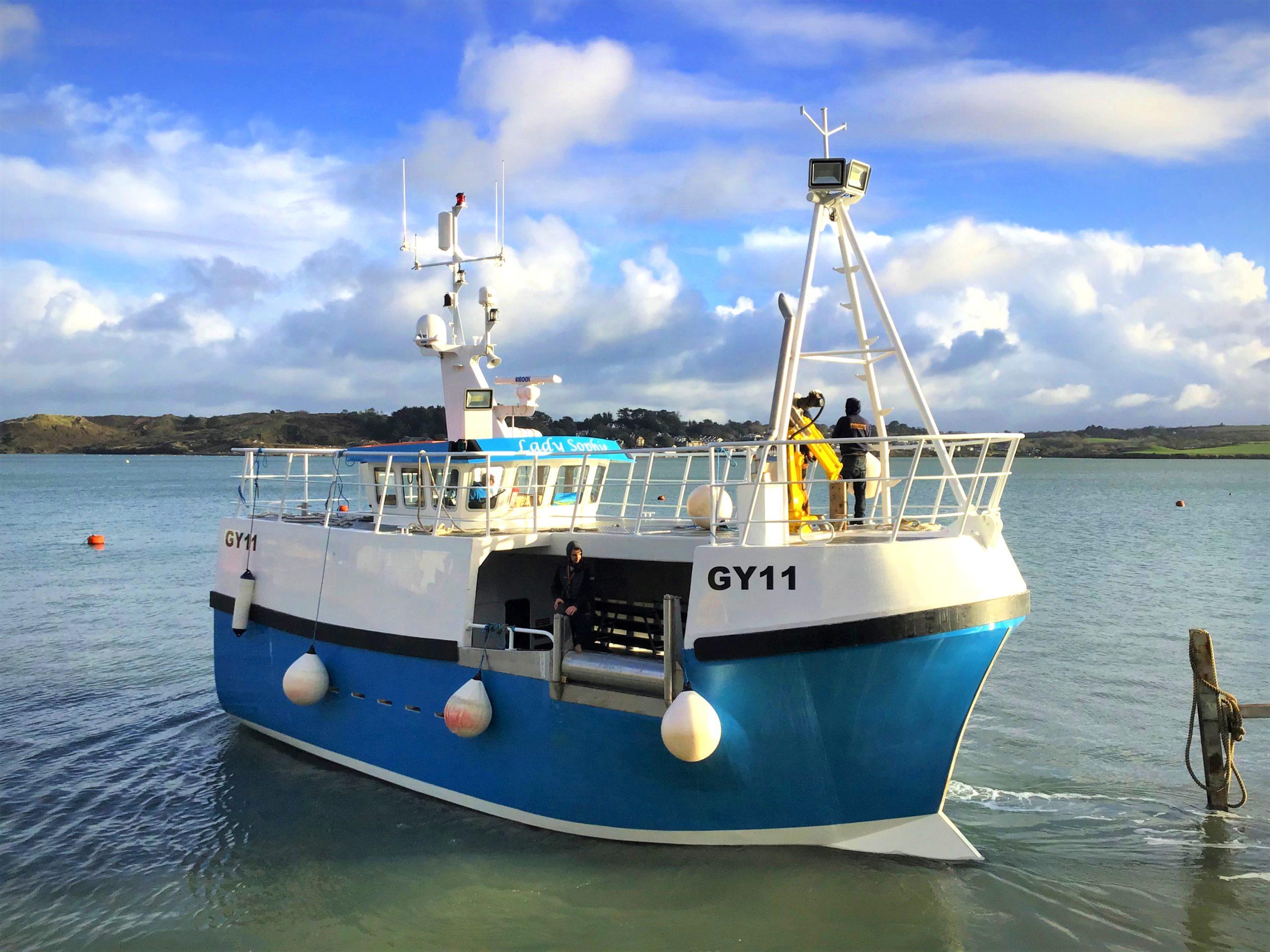 lady sophie padstow boatyard