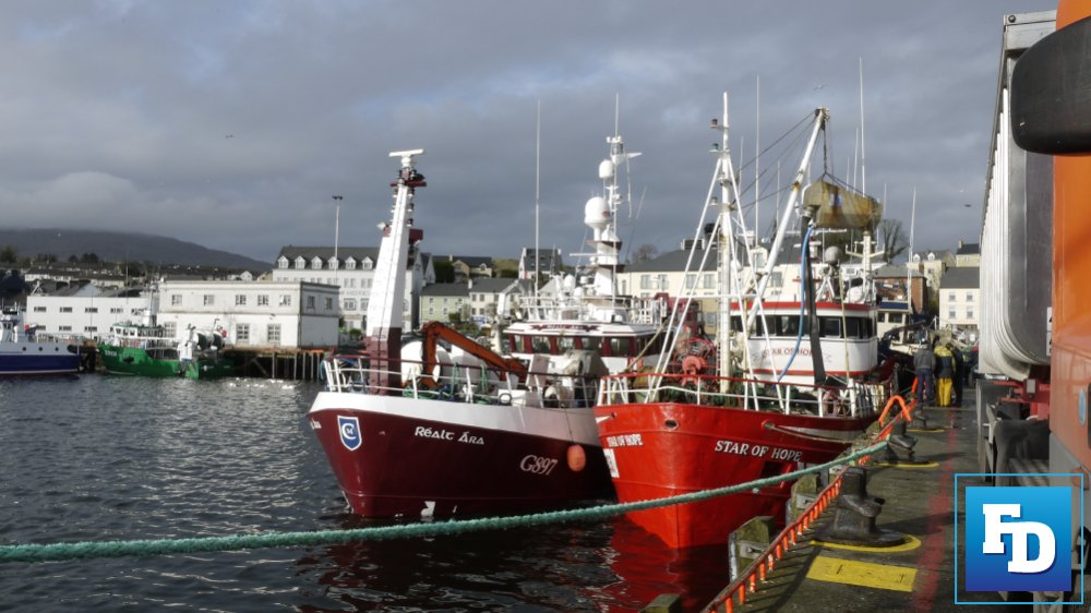 Killybegs Harbour Irish Fishing Industry
