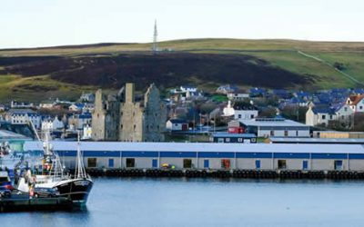 Scalloway Harbour due to open new state-of-the-art fishmarket