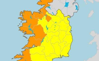 Status Orange – Marine Warning remains in place