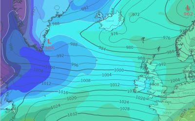 Gale warnings remain in place over Monday as unsettled week ahead