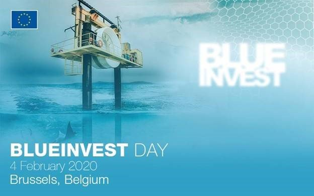 blue invest day logo