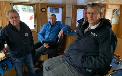 Poots pledges to stand up for Northern Ireland fishermen