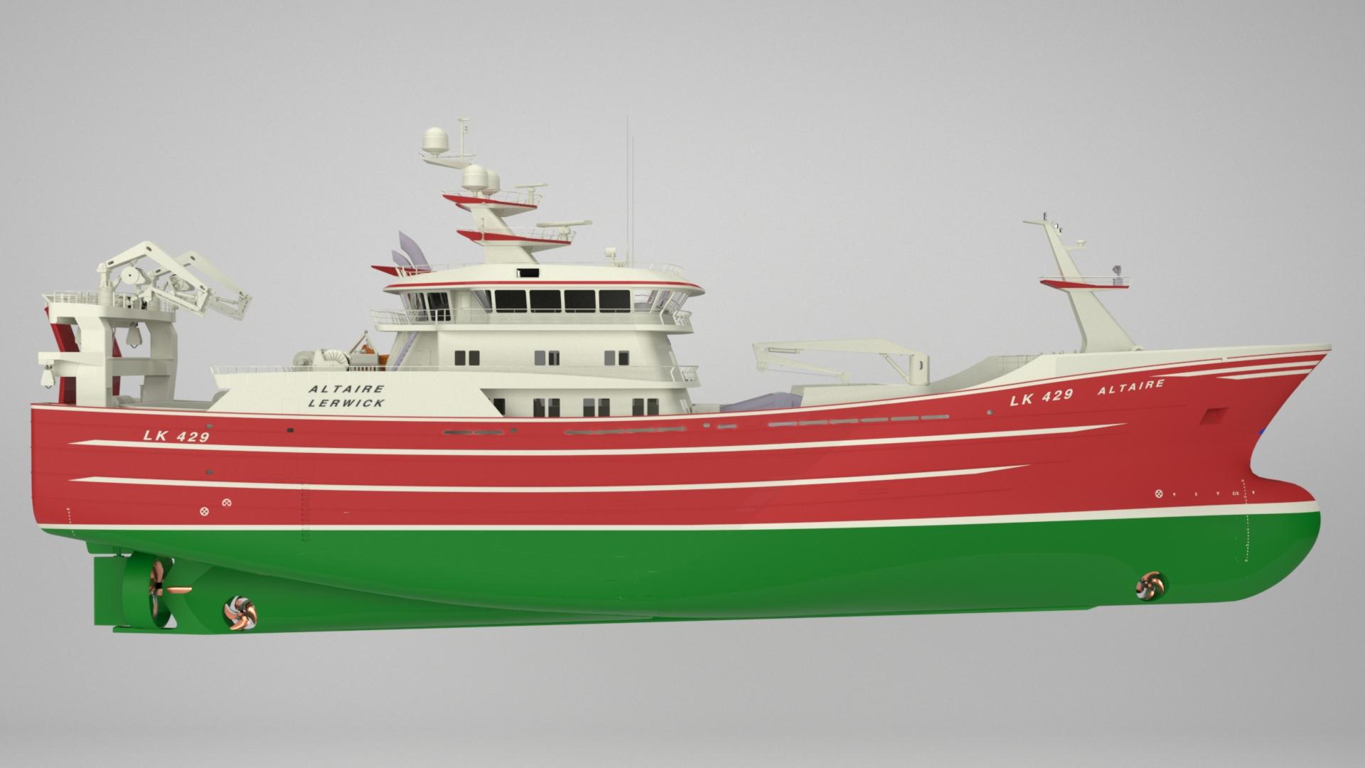 Altaire fishing trawler karstensen