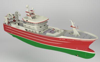 Altaire Fishing Co Ltd orders new pelagic trawler from Karstensen Shipyard