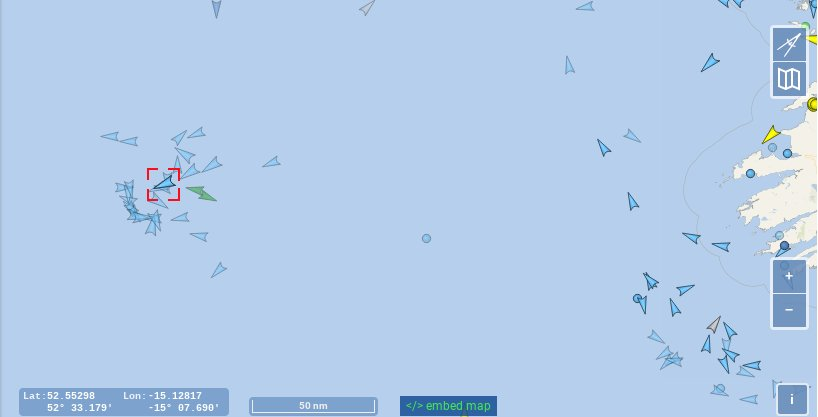 map of fishing grounds