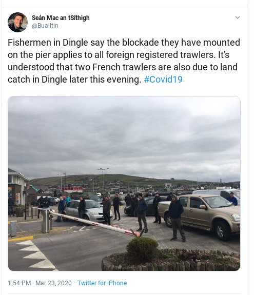 Dingle blockade