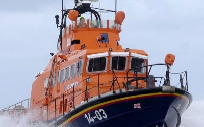 Fishguard RNLI lifeboat called out to same boat twice in two days