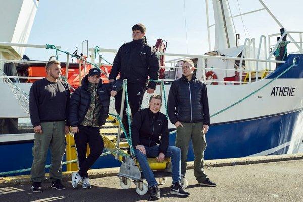 young danish fishermen