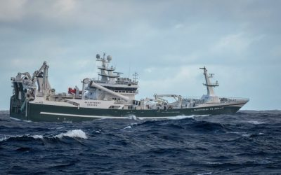 Blue Whiting fishing improves off South-West Ireland as weather picks-up