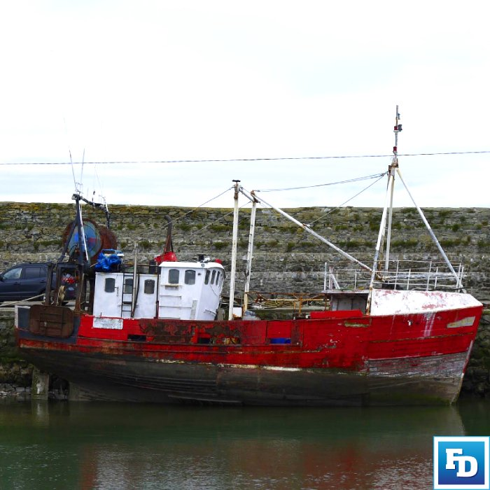 Boat in Balbriggan