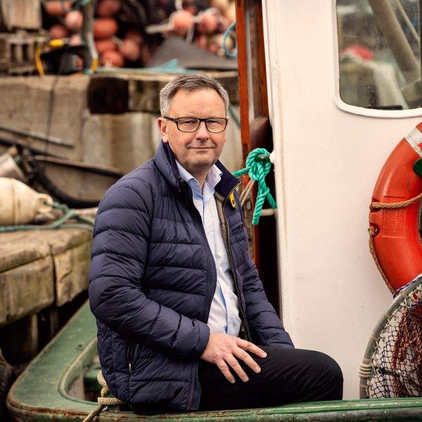Svend-Erik Andersen, chairman of the Danish Fisheries Association