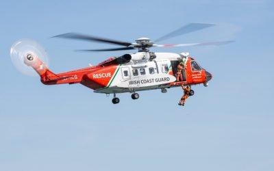 Rescue 115 medevac crewman from Spanish fishing vessel