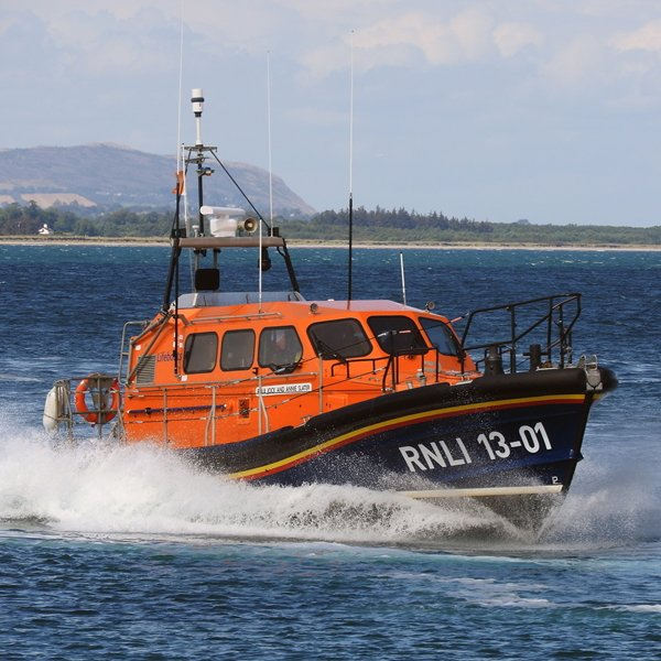 Wicklow RNLI Lifeboat volunteers