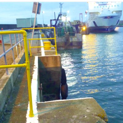 MCIB have investated the loss of a fisherman at Rosslare Europort