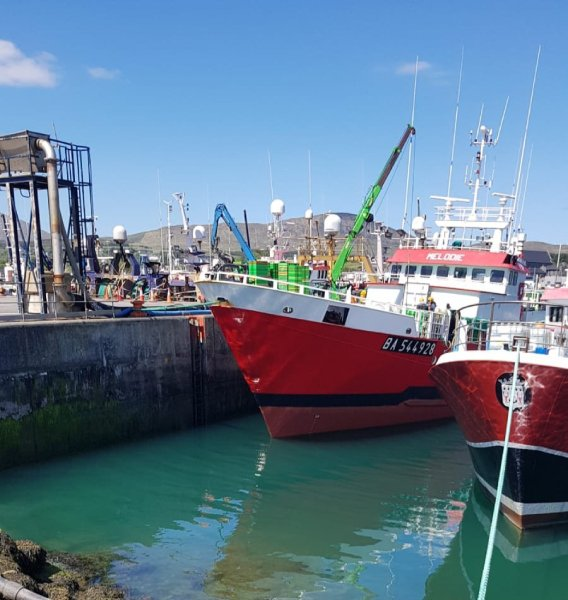 Foreign fishing vessels Castletownbere