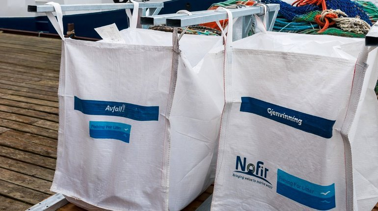 Norway Fishing for Litter