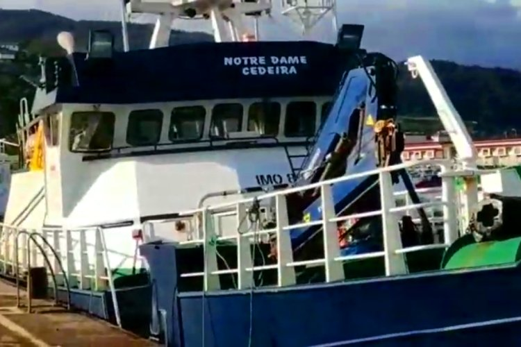 Spanish fishing vessel - longliner - Notre Damme Cedeira