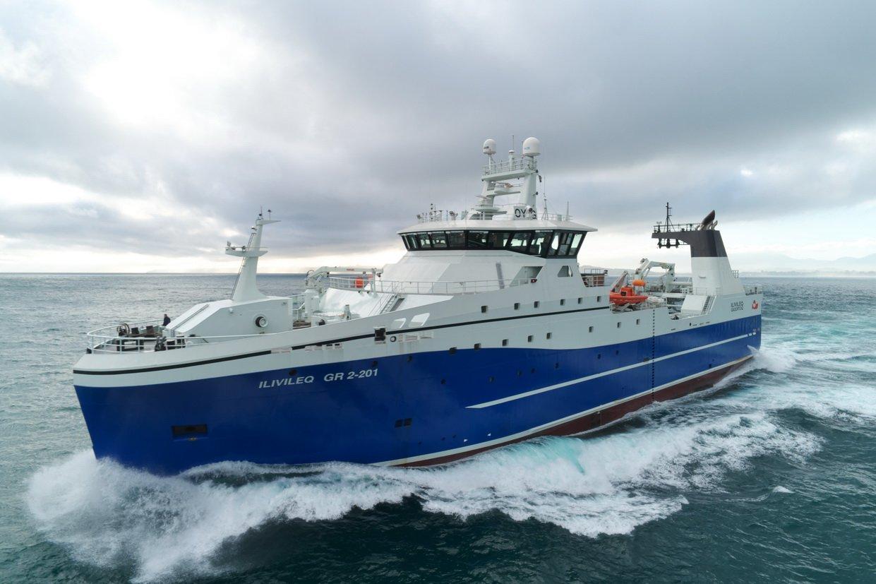Brim hf's freezer-trawler Ilivileq