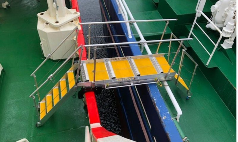 Dangers Boarding fishing vessels