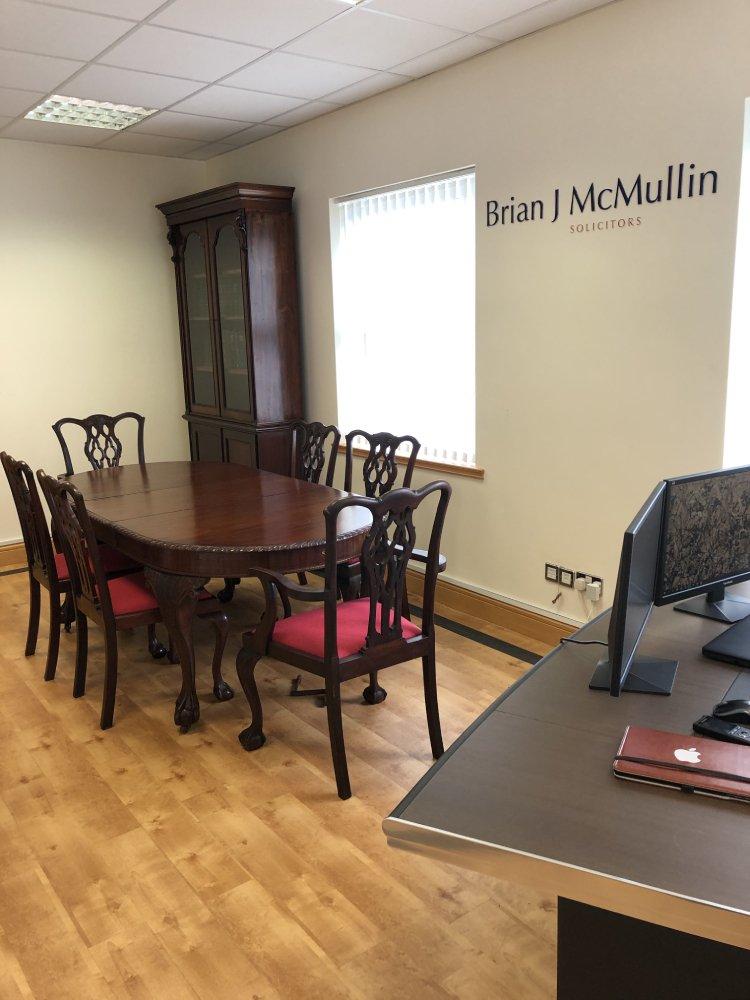 Brian J McMullin Killybegs-office
