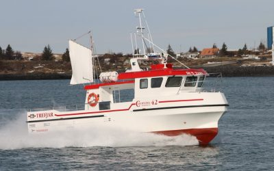 Icelandic boatbuilder Trefjar delivers 'M/S Tare' to Norwegian owner