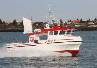 Icelandic boatbuilder Trefjar
