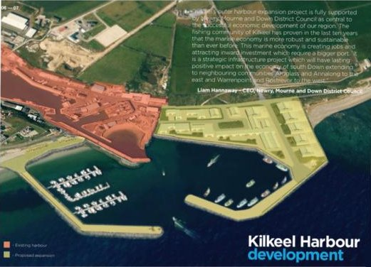 outer harbour development Kilkeel