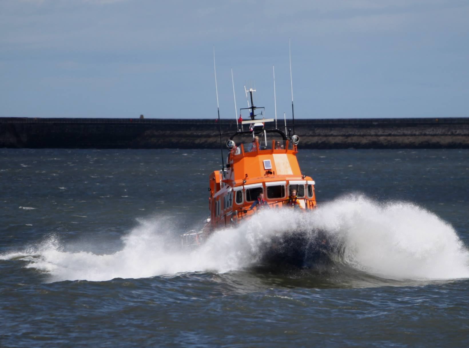 Tynemouth RNLI lifeboat northeast coast