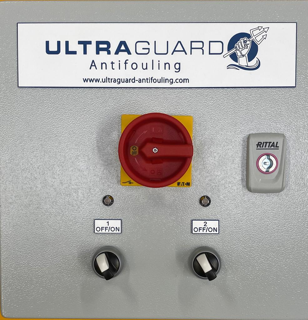 Ultraguard has also been designed with a modular construction where each transducer has its own separate power supply and control PCB allowing easy maintenance and repairs if they are damaged. Ship's staff can simply switch out the damaged component in minutes