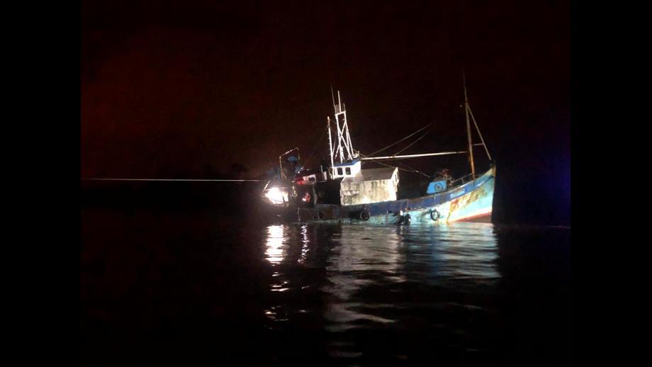 Donaghadee RNLI fishing boat August