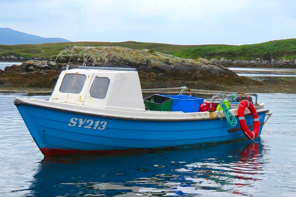 MAIB drowning outer hebrides