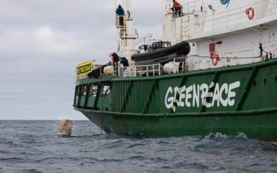 VisNed Files Formal Complaint against Greenpeace over Dogger Bank Stunt