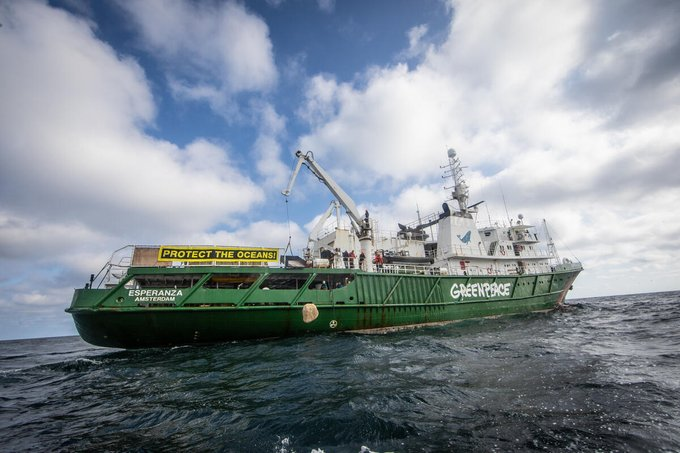 Defra Greenpeace Dogger Bank