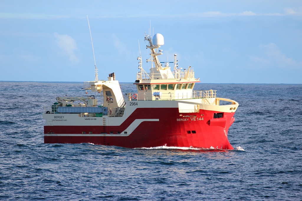 Síldarvinnslan whitefish trawlers