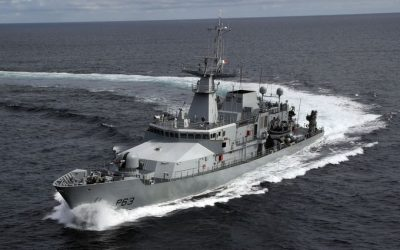 LÉ William Butler Yeats detains two Irish fishing vessels off Cork coast
