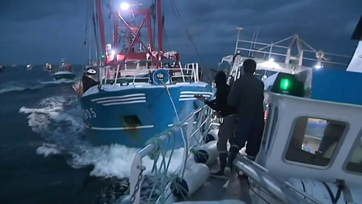 scallop wars english channel