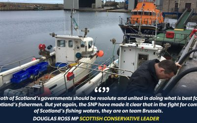 Scottish Conservative Leader accuses SNP of fishing industry betrayal