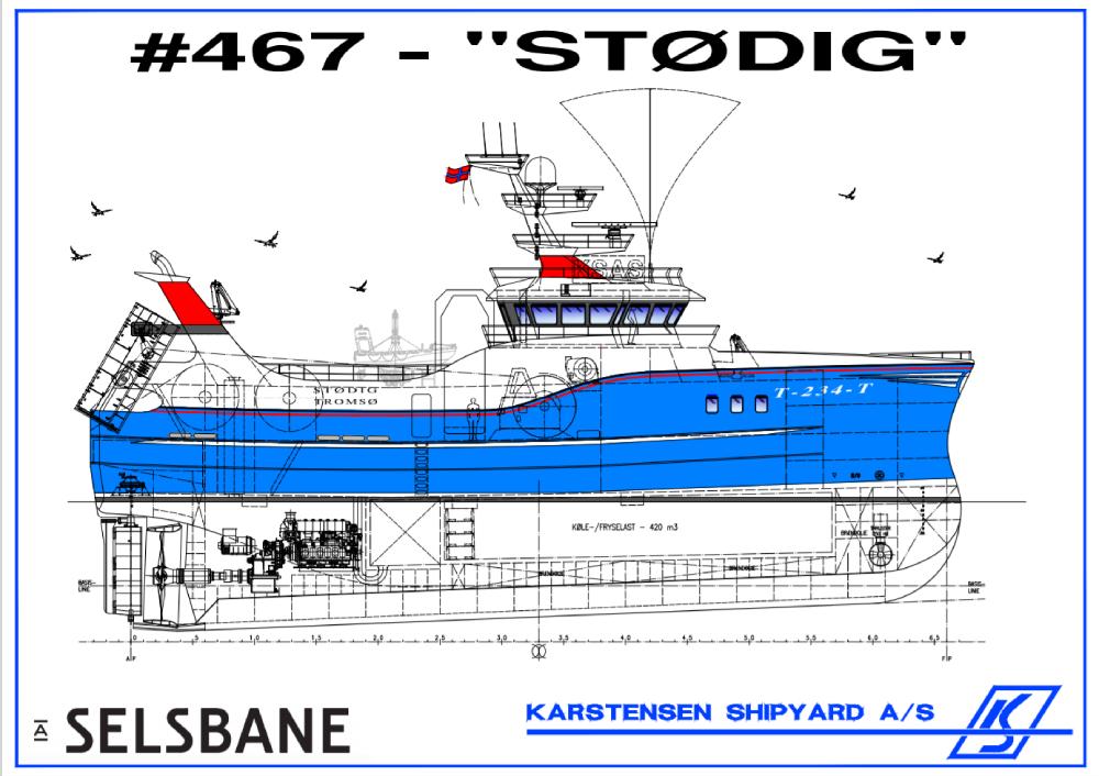 467 STØDIG karstensen shipyard