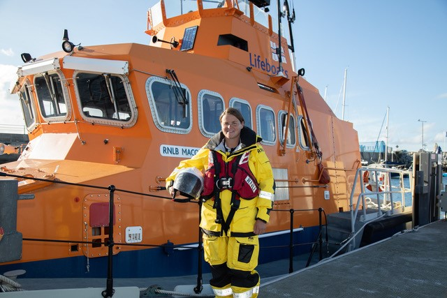 first female lifeboat coxswain ireland
