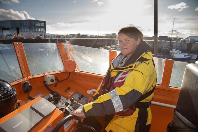 first female lifeboat coxswain ireland