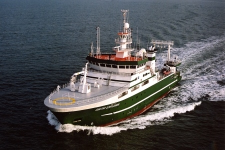 marine research vessel