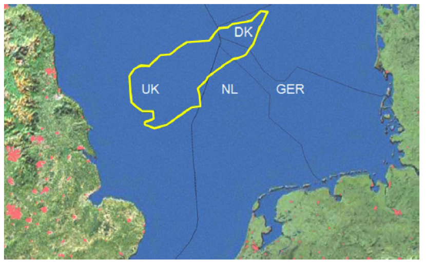 Simple outline of the Dogger Bank Marine Protected Area