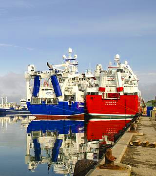 danish prime minister fishing industry