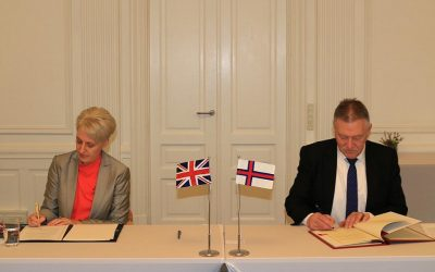 UK signs Fisheries Framework Agreement with the Faroe Islands